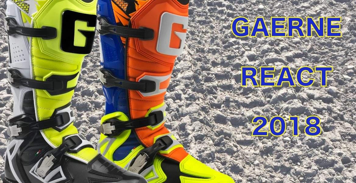 Gaerne, 2018, React, React Goodyear, Offroad, Enduro, MX, Crossstiefel, Motocross, Stiefel, Vollcross, Cross, Rennstiefel, Gaerne Deutschland, ONROad, Strassenstiefel, GAERNE Germany, Gaerne-moto-boots-germany.de, emeasy.de Racing Boot, Gaerne.com, Deutschland, deutsch, weiss, schwarz, orange, neongelb, GAERNE REACT GOODYEAR ORANGE BLU YELLOW FLUO