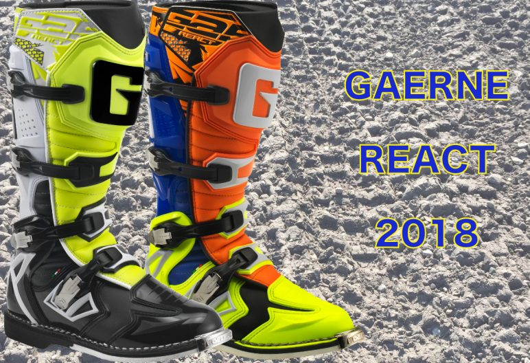 Gaerne, 2018, React, React Goodyear, Offroad, Enduro, MX, Crossstiefel, Motocross, Stiefel, Vollcross, Cross, Rennstiefel, Gaerne Deutschland, ONROad, Strassenstiefel, GAERNE Germany, Gaerne-moto-boots-germany.de, emeasy.de Racing Boot, Gaerne.com, Deutschland, deutsch, weiss, schwarz, orange, neongelb, GAERNE REACT GOODYEAR ORANGE BLU YELLOW FLUO