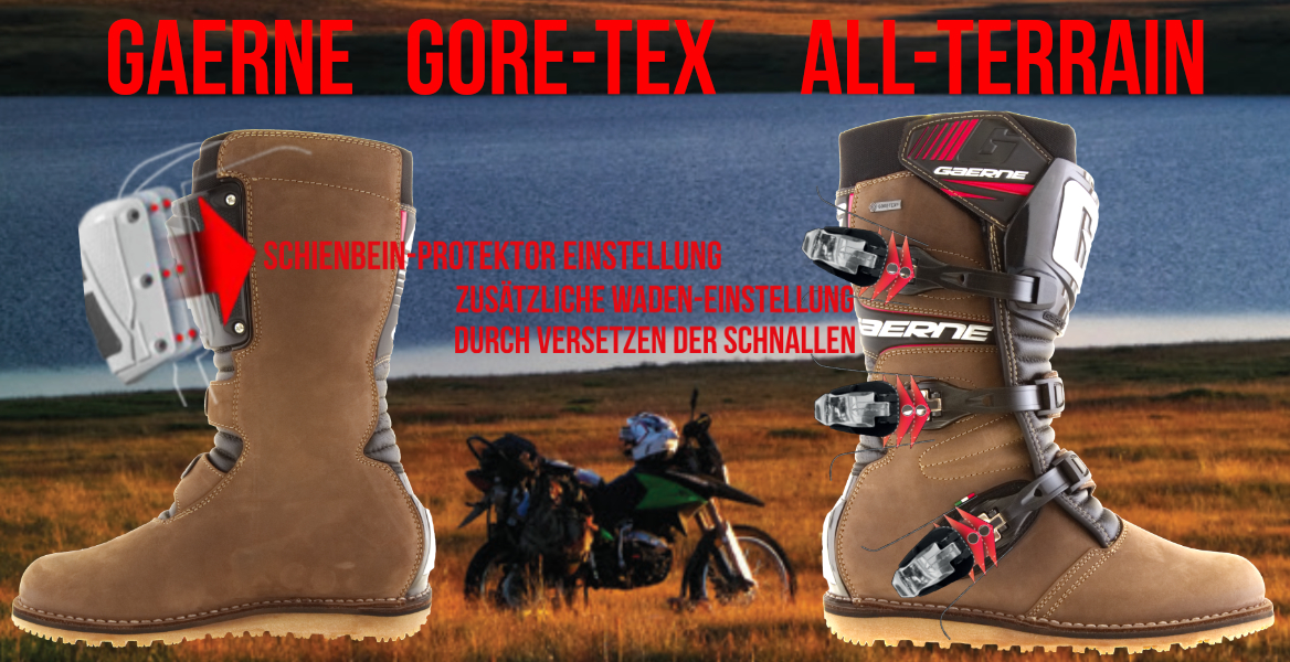 GAERNE GORE-TEX STIEFEL ALL TERRAIN BRAUN