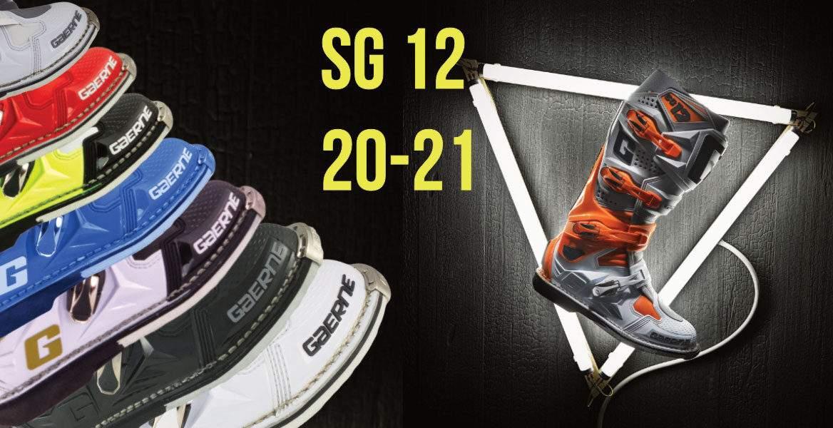 Gaerne SG12,alle farben, Neu, 2021, grau,neongelb,schwarz,weiss,orange, gaerne-moto-boots-germany.de, gaerne.com, Motocross,Enduro,Stiefel,Gaerne Deutschland